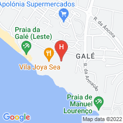 Mapa VILA GALE ATLANTICO