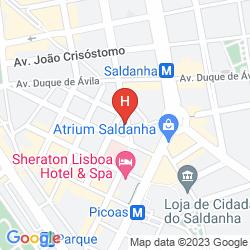 Mapa ZENIT LISBOA