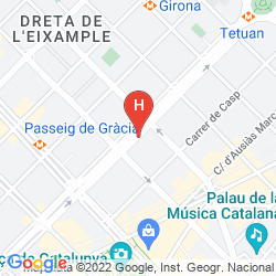 Mapa ACTA ATRIUM PALACE