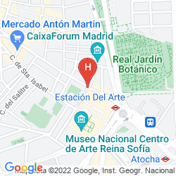 Mapa PASEO DEL ARTE