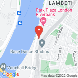 Mapa PLAZA ON THE RIVER, LONDON