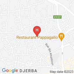 Mapa TUI SENSIMAR ULYSSE PALACE