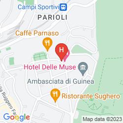 Mapa DELLE MUSE