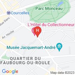 Mapa DU COLLECTIONNEUR ARC DE TRIOMPHE