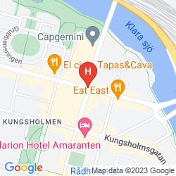 Mapa CITY HOSTEL