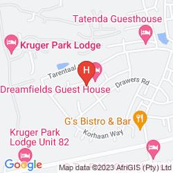 Mapa DREAMFIELDS GUESTHOUSE