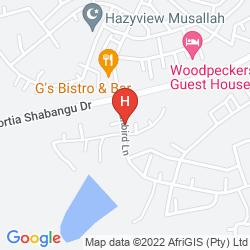 Mapa OTJ PRIDE GUEST HOUSE