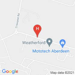 Mapa THE ABERDEEN ALTENS