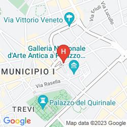 Mapa SINA BERNINI BRISTOL