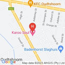 Mapa KAROO SOUL - HOSTEL