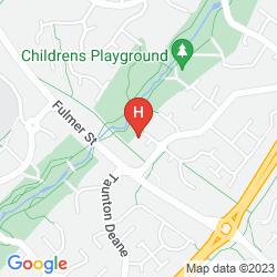 Mapa FURZTON SERVICED HOUSE - SHORTSTAY MK