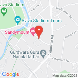 Mapa SANDYMOUNT