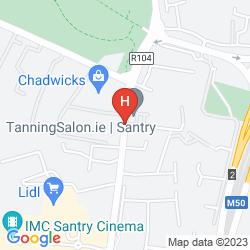 Mapa BONNINGTON DUBLIN