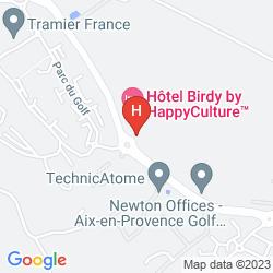 Mapa BIRDY BY HAPPYCULTURE