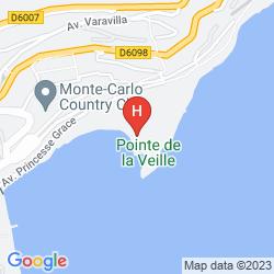 Mapa MONTE-CARLO BEACH