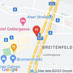 Mapa BOUTIQUE HOTEL DONAUWALZER