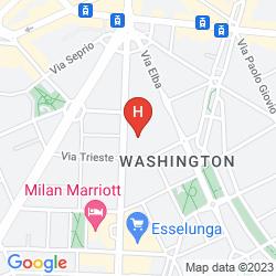 Mapa WASHINGTON