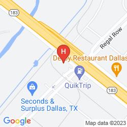 Mapa STERLING HOTEL DALLAS