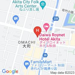 Mapa KYODO OMACHI BUILDING OMACHI-SO