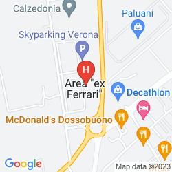 Mapa STAR HOTEL AIRPORT VERONA