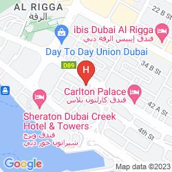 Mapa AL KHALEEJ PALACE