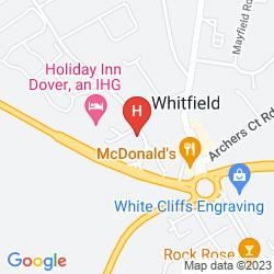Mapa RAMADA DOVER