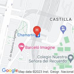 Mapa WEARE CHAMARTIN