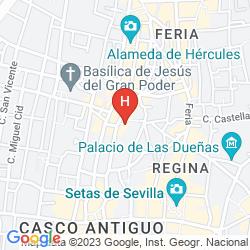 Mapa H10 CORREGIDOR BOUTIQUE HOTEL