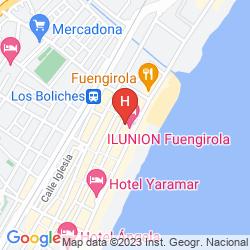 Mapa ILUNION FUENGIROLA