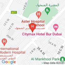 Mapa RICHMOND HOTEL APARTMENT