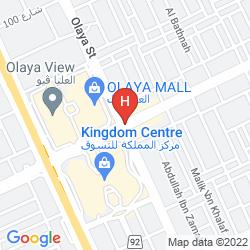 Mapa PETAL HOTEL
