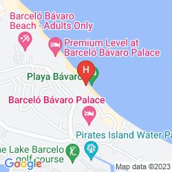 Mapa BARCELO BAVARO PALACE DELUXE
