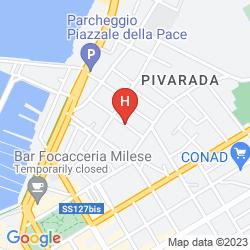 Mapa ALGHERO VACANZE