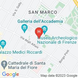 Mapa LE DUE FONTANE