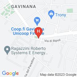 Mapa ROSARY GARDEN