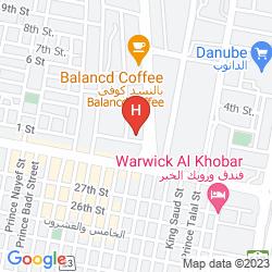 Mapa AL GOSAIBI