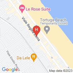 Mapa SUITE HOTEL LITORANEO