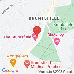 Mapa BEST WESTERN PLUS BRUNTSFIELD