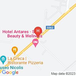 Mapa ANTARES