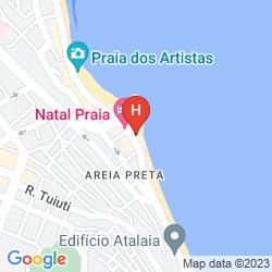 Mapa HOTEL PARAISO NATAL