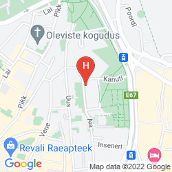 Mapa KALEV SPA HOTEL & WATERPARK