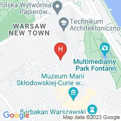 Mapa MAMAISON LE REGINA