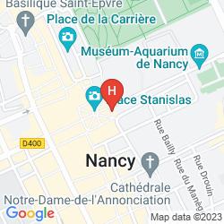 Mapa GRAND DE LA REINE