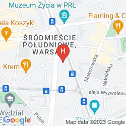 Mapa MDM CITY CENTRE