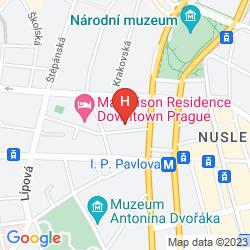 Mapa MH SUITES PALACE