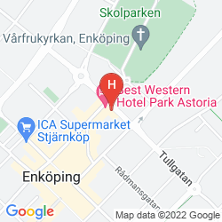 Mapa BEST WESTERN HOTEL PARK ASTORIA
