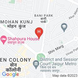 Mapa UMAID BHAWAN
