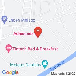 Mapa ADANSONIA