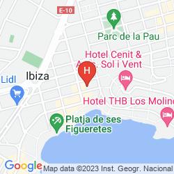 Mapa CENTRAL PLAYA