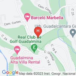 Mapa BARCELO MARBELLA